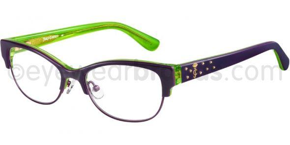 b88c12076d4 Juicy Couture JU 137 Juicy Couture JU137 3HW Violet Green Designer Glasses  From Eyewearbrands