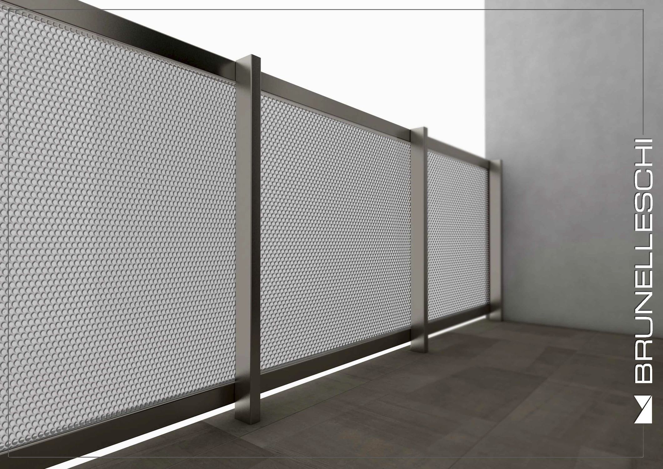 Best Aluminum Railing Perforated Sheet Metal Outdoor For 400 x 300