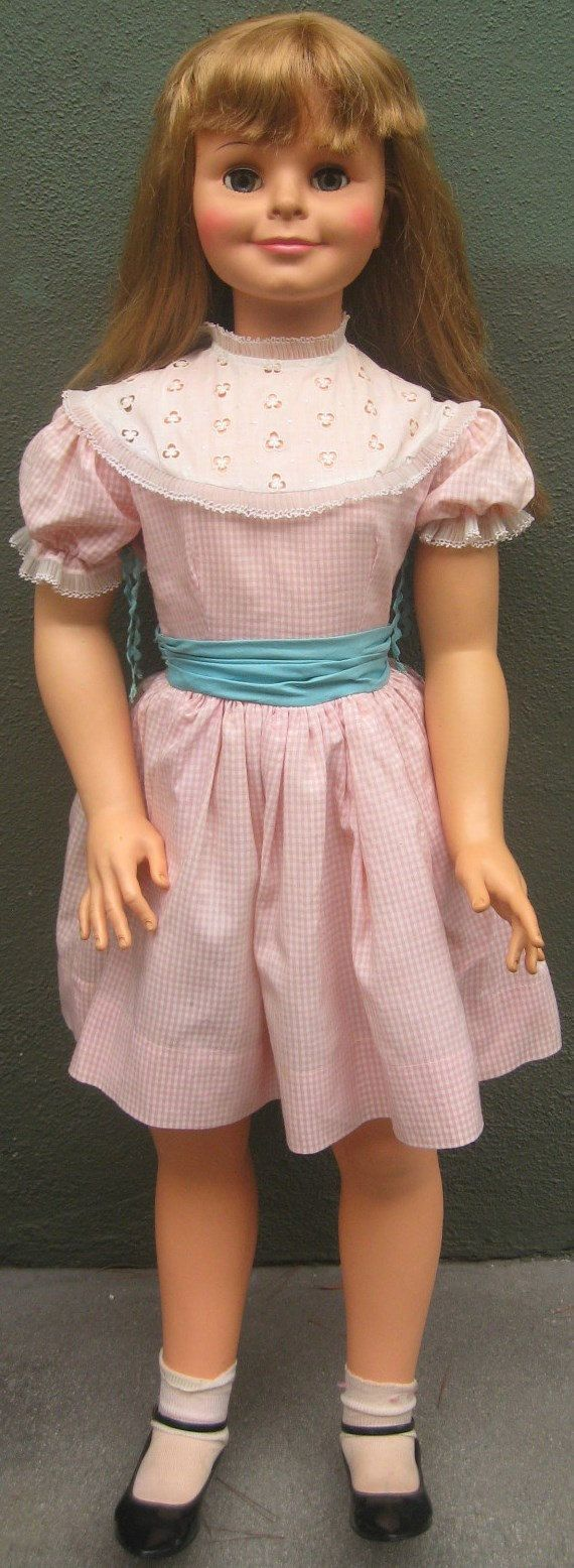 RARE IDEAL Daddys Girl 42 inch Playpal type doll  WOW Xmas Gift