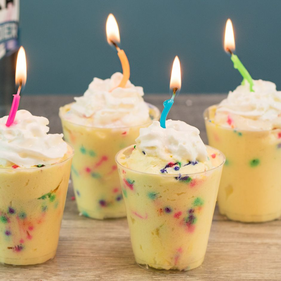Birthday cake pudding shots recipe with images tipsy