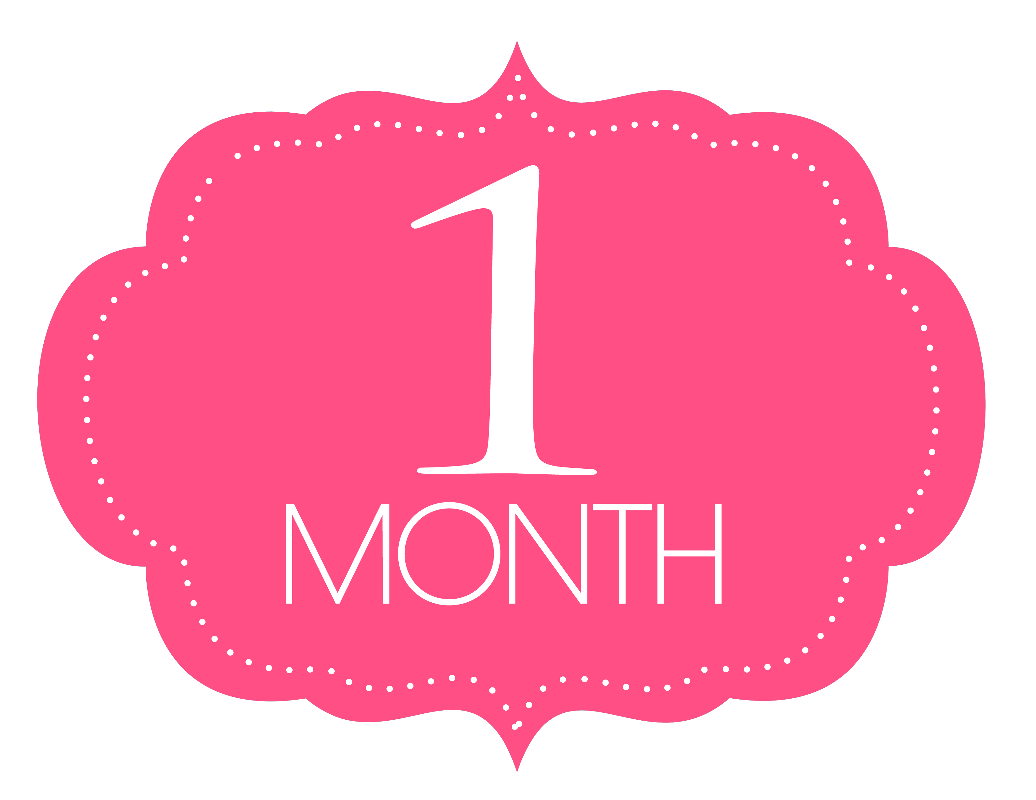 Free Printable 1 Month Old Sign 1 Month Old Baby, One Month Old, Happy