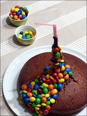 Le gateau qui fait faire wahou aux enfants (et aux parents) : le Gravity cake - A la table de Gaelle #gravitycake