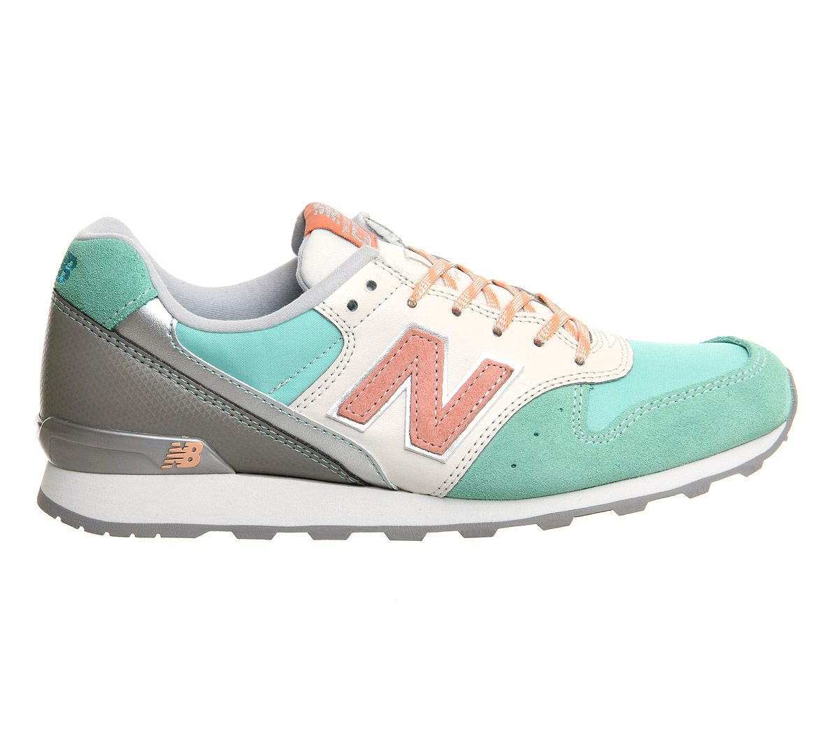 New Balance Wr996 Iced Lolly Mint Grey Pink - Hers trainers