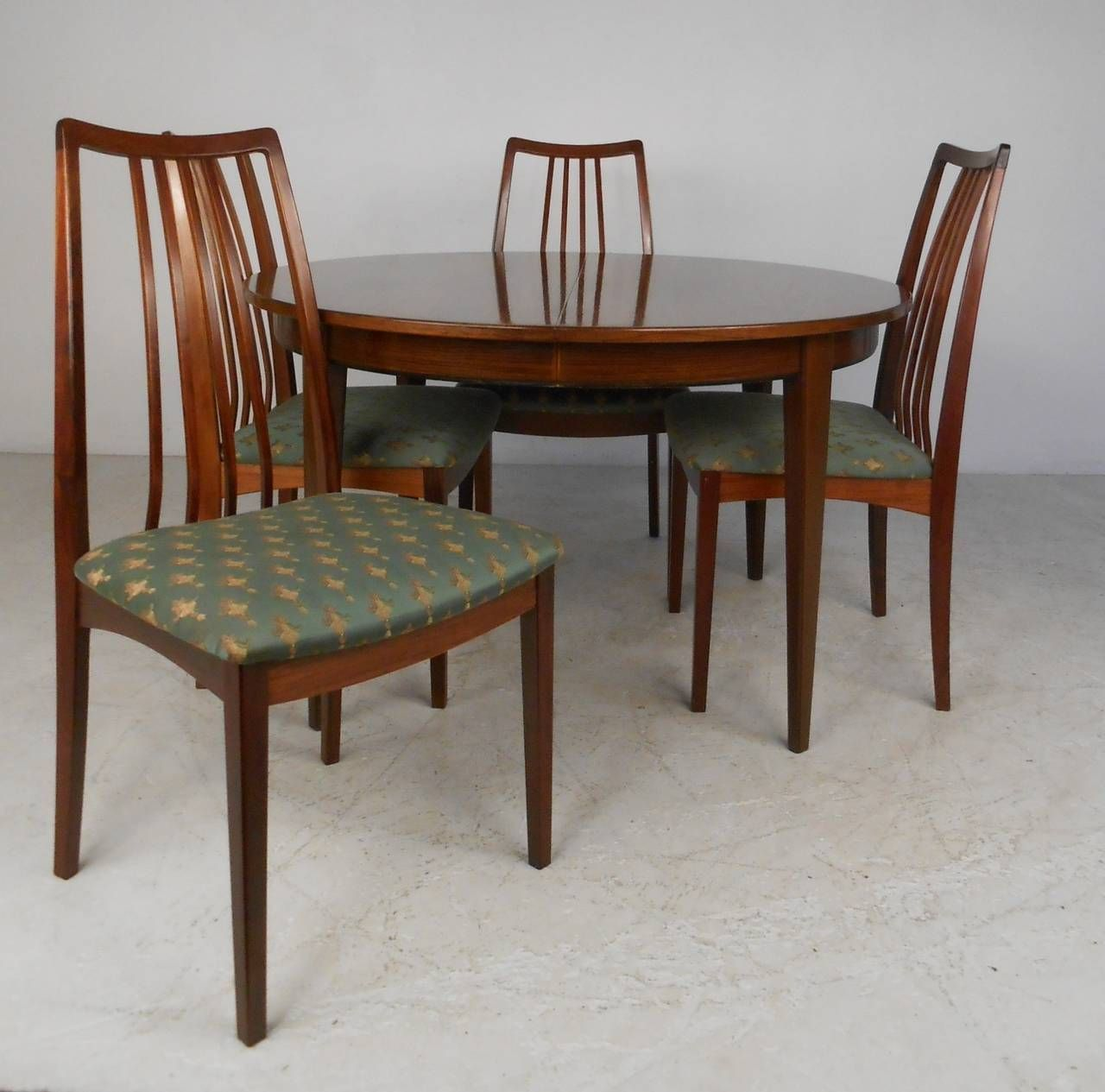 Antique wood dining tables danish rosewood omann jun dining table and chairs  dining room sets