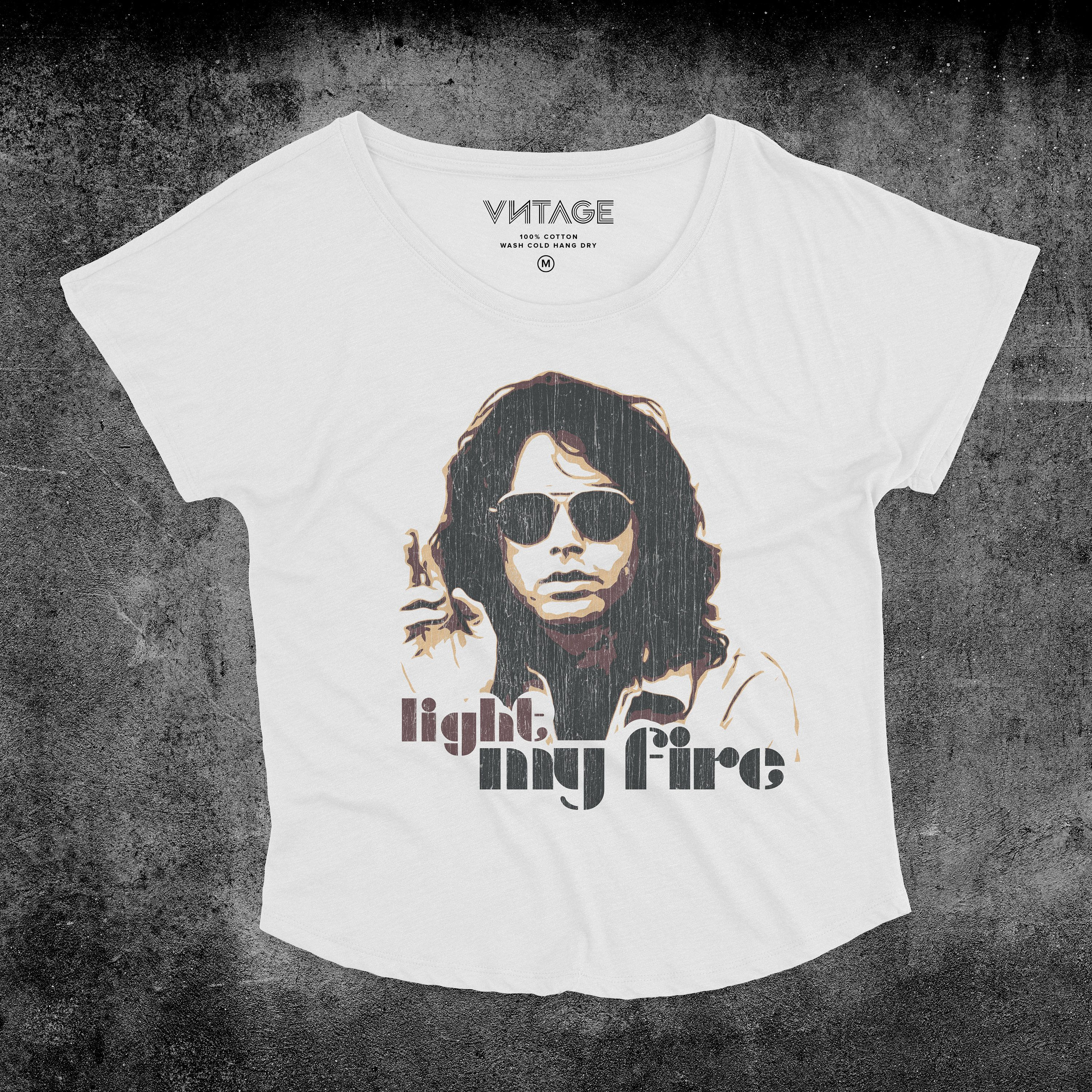 70 S Vintage Style The Doors Inspired Light My Etsy In 2020 Vintage Fashion Light My Fire Festival Wear