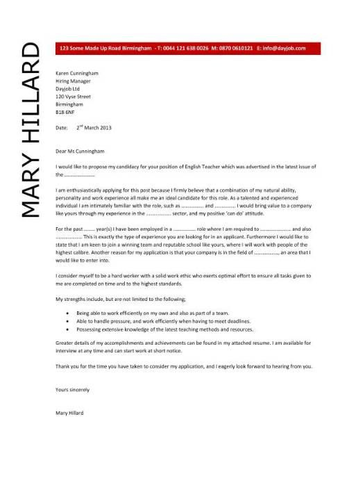english teacher resume cover letter Home Design Idea Pinterest - Examples Of Resumes For Restaurant Jobs
