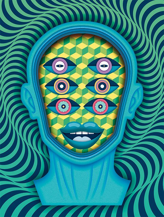 Bold Illustrations by Velckro