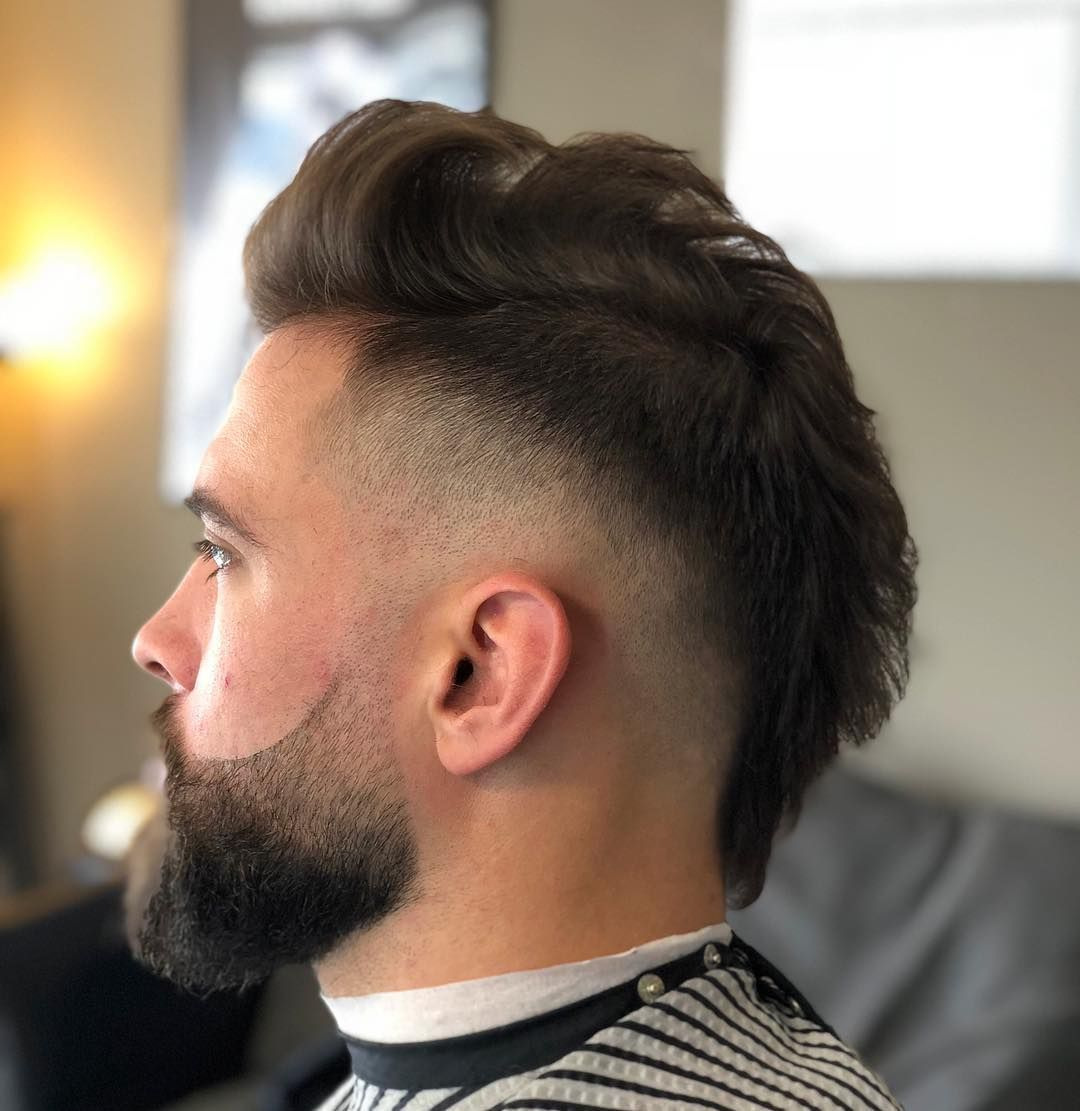 Top 45 Fade Haircuts For Men 2020 Styles Mohawk Hairstyles Men Fade Haircut Faded Hair