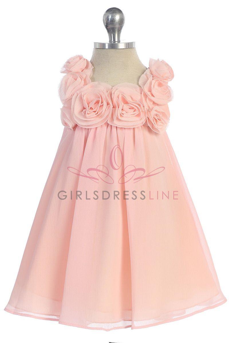 Flowergirl dress idea- in champagne or white | Wedding | Pinterest ...
