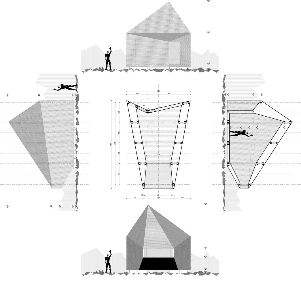 Time Box – Temporary Exhibition Pavilions / Gergely Sági