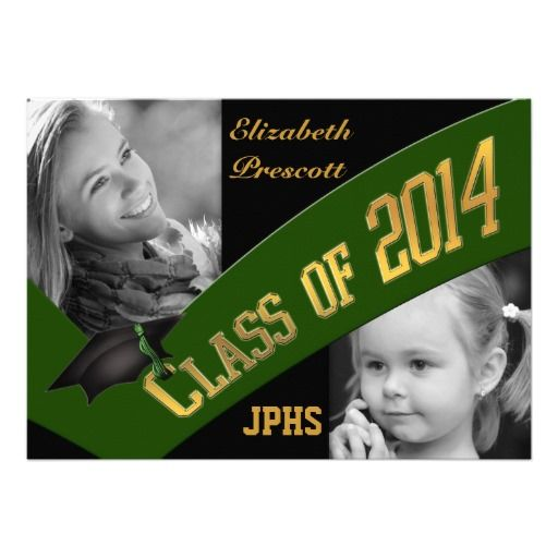 >>>The best place          	Class of 2014 Graduation Two Photo - Dk Green Gold Invitation           	Class of 2014 Graduation Two Photo - Dk Green Gold Invitation in each seller & make purchase online for cheap. Choose the best price and best promotion as you thing Secure Checkout you can trust ...Cleck Hot Deals >>> http://www.zazzle.com/class_of_2014_graduation_two_photo_dk_green_gold_invitation-161671602862994151?rf=238627982471231924&zbar=1&tc=terrest