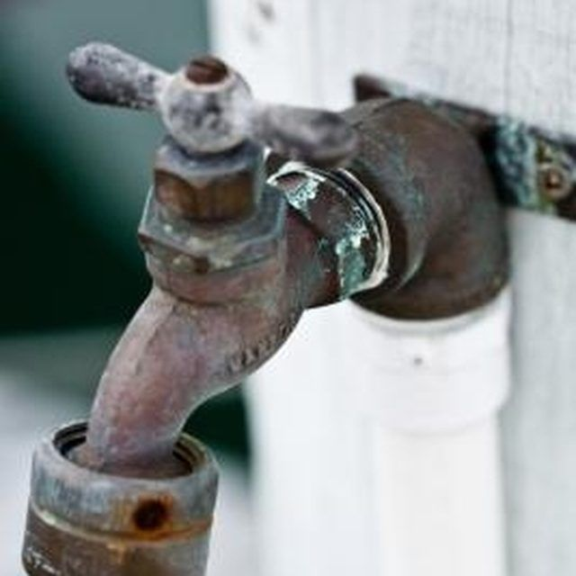 How To Replace A Valve Stem On An Outside Faucet
