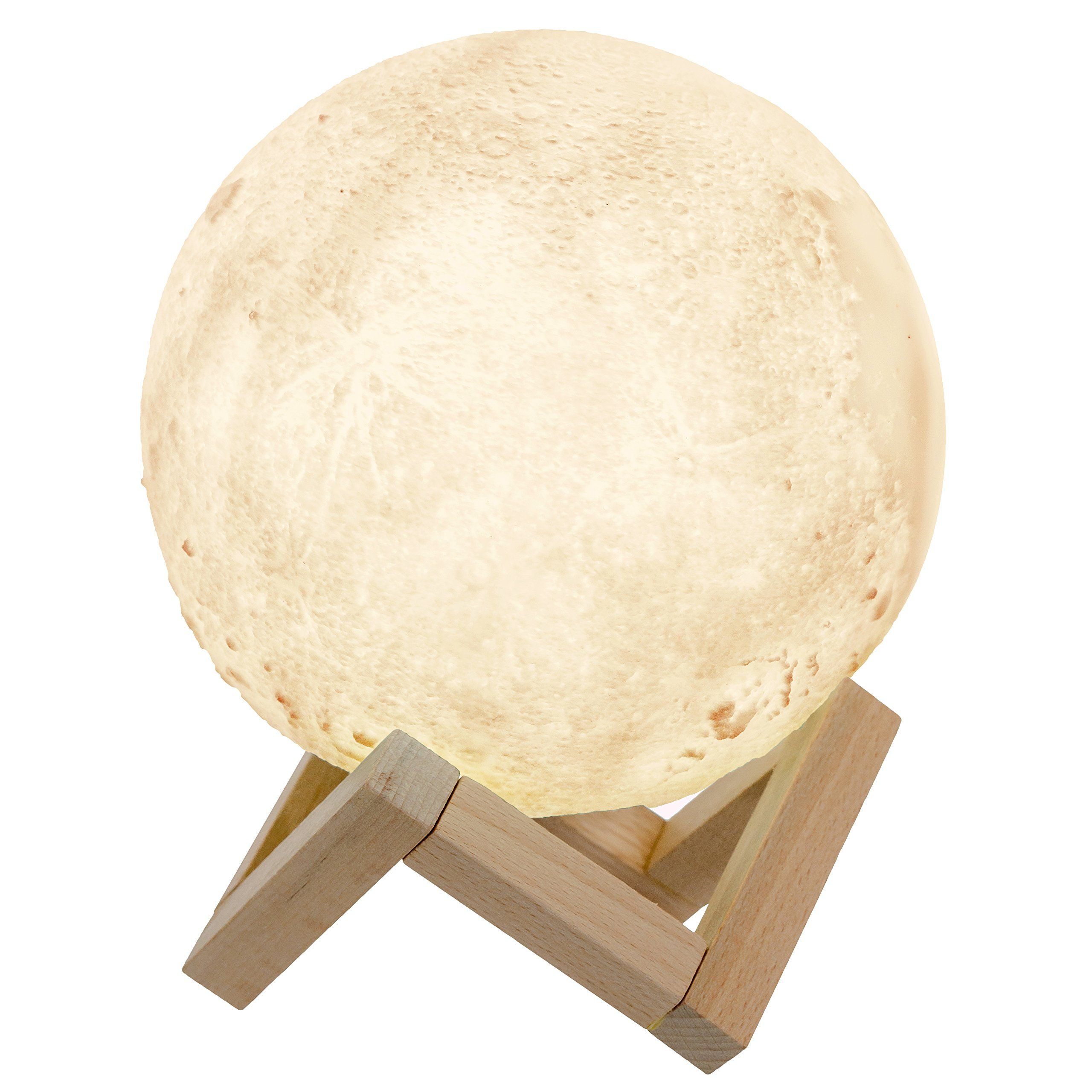 [Ag 3D] Big Moon Lamp Night Light With Stand 59In
