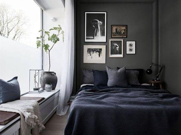 45 Classic Men Bedroom Ideas And Designs Blue Bedroom Decor