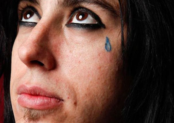 teardrop tattoo | Teardrop tattoo, Under eye tattoo