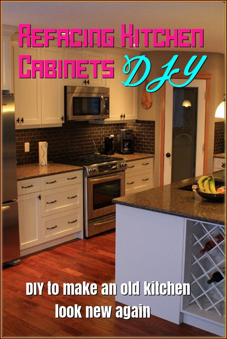 Projects To Improve Your Home Don T Have To Cause You A Headache With The Proper Planning Refacing Kitchen Cabinets Diy Refacing Kitchen Cabinets Diy Cabinets