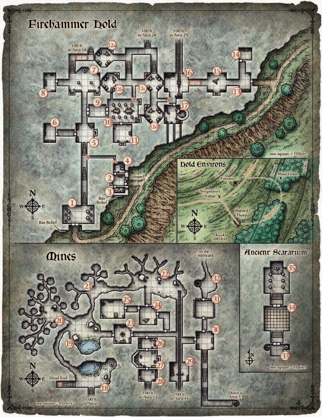 Pin by Stephen Burris on D&D in 2019   Fantasy map, Dungeon