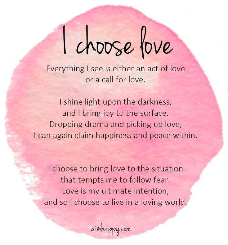 An affirmation for love that could change your life