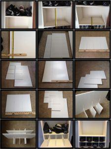 creating my shoe shelves organizing ideas diy shoe storage shoe rh pinterest com