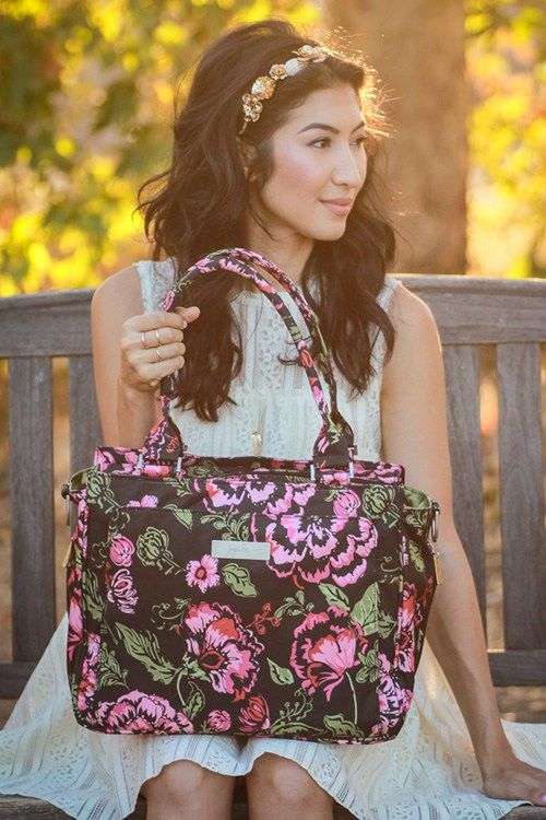 cutest diaper bags Ju-Ju-Be created diapers bags with features that allow you to solve any of mom life's little (or big) problems. Easy-access zipper compartments for storing favorite toys? https://www.ju-ju-be.com