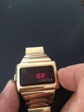 Vintage Omega TC2 Time Computer Vintage digital Led Watch nice condition