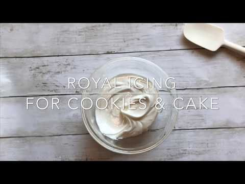 Royal Icing for Cookies & Cakes - Katie Rosario
