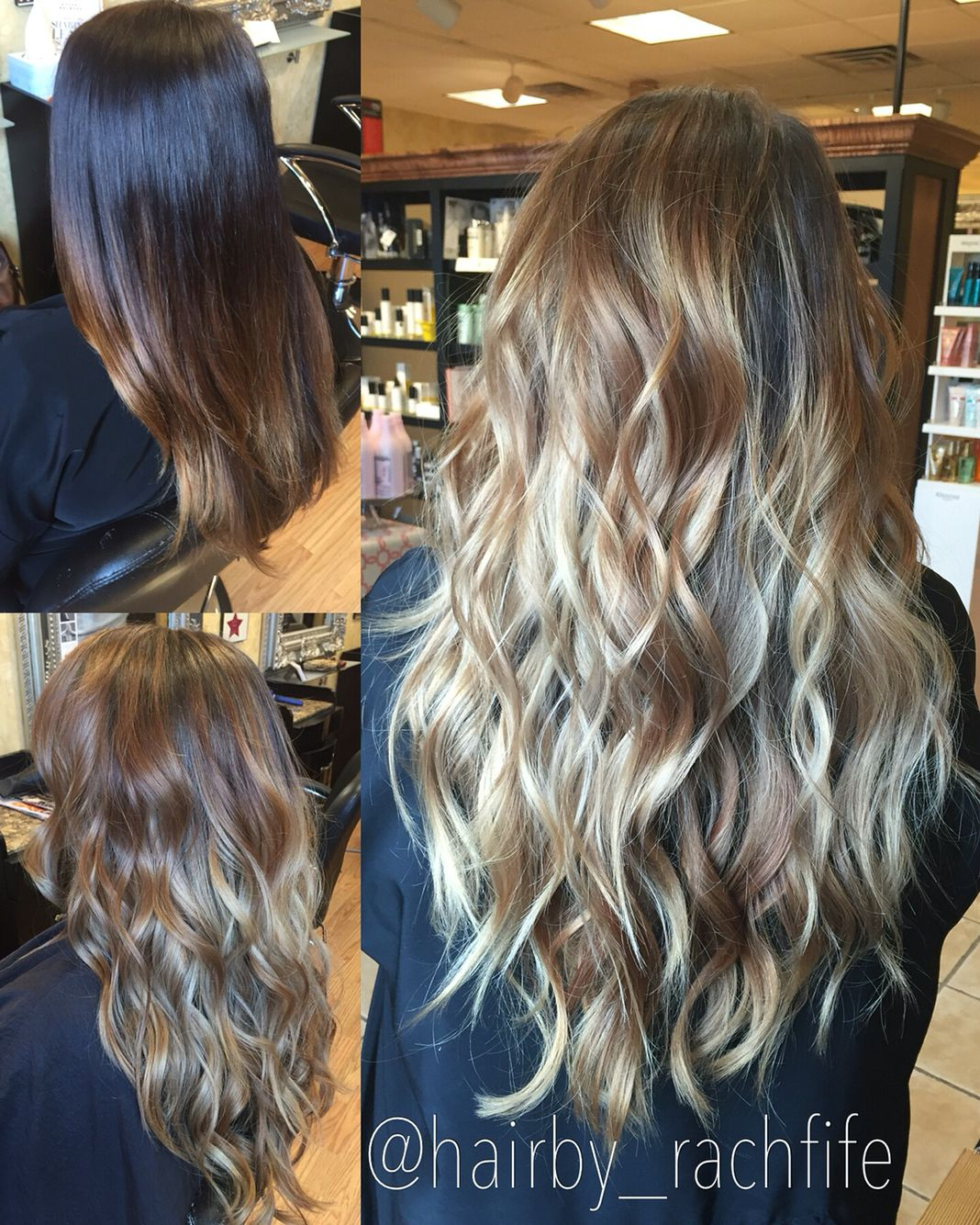 The Process Of Going Lighter Full Balayage Highlight Hair