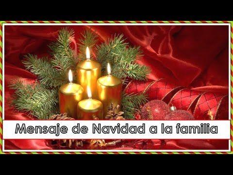 Feliz navidad querida familia y amigos