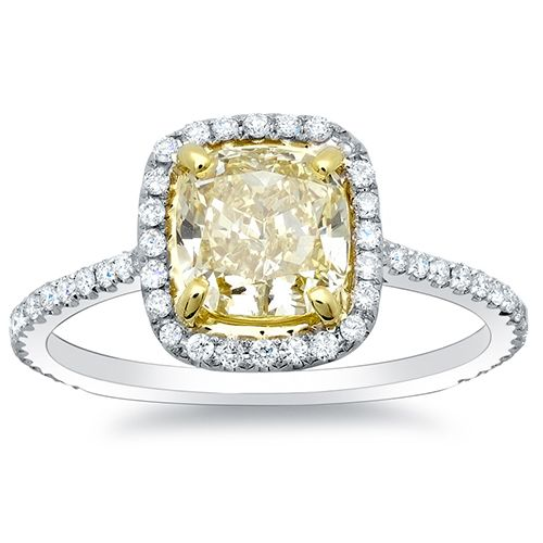 canary diamond - perfect shade of canary | wedding | Pinterest ...