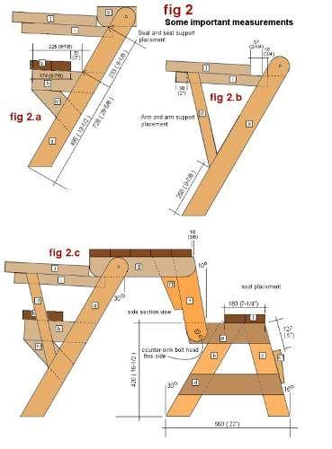 Projeto completo banco vira mesa marcenaria r 8 99 no for Planos de mesas de madera pdf