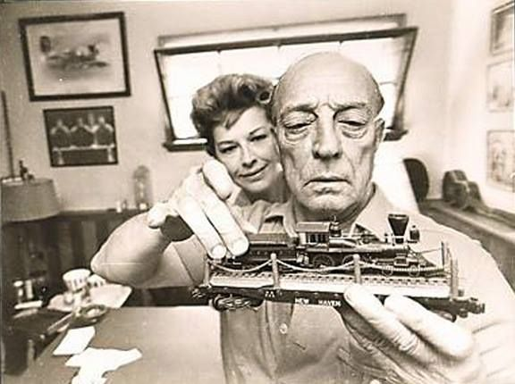 Pin on Eleanor and Buster Keaton