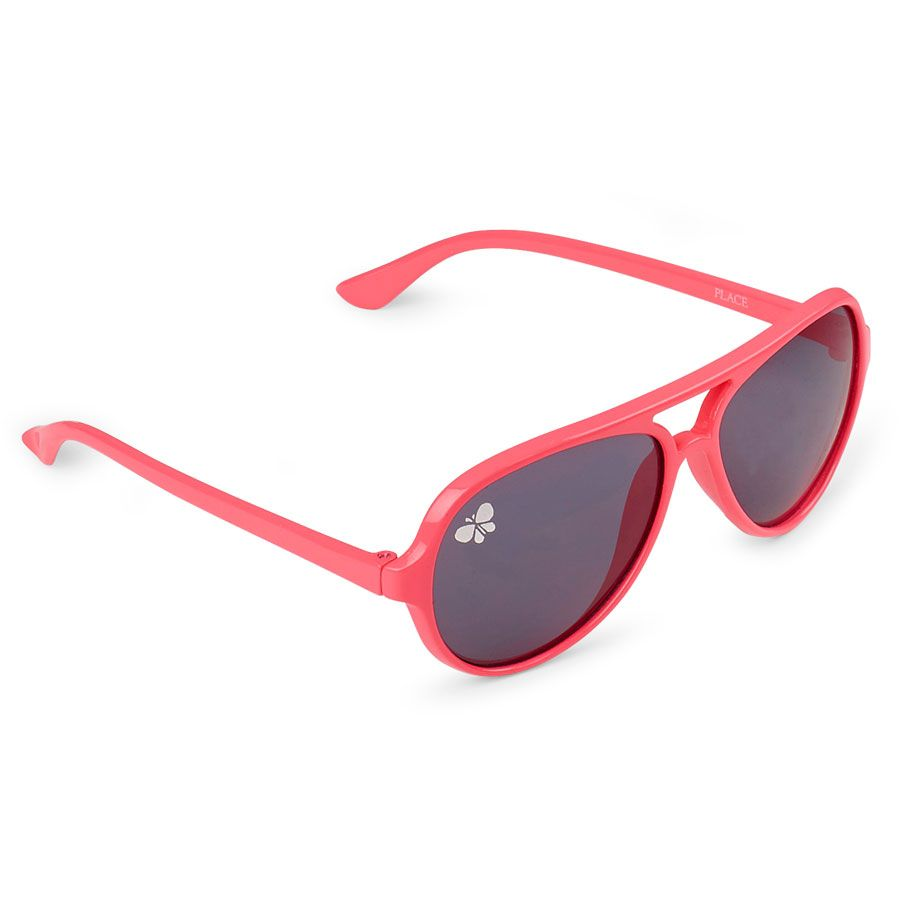 Girls Butterfly Aviator Sunglasses