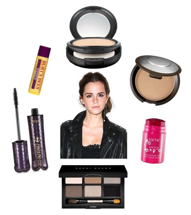 """""""Out there"""" by mooneyes1218 on Polyvore featuring beauty, Becca, MAC Cosmetics, tarte, Bobbi Brown Cosmetics, Burt's Bees and Emma Watson"""