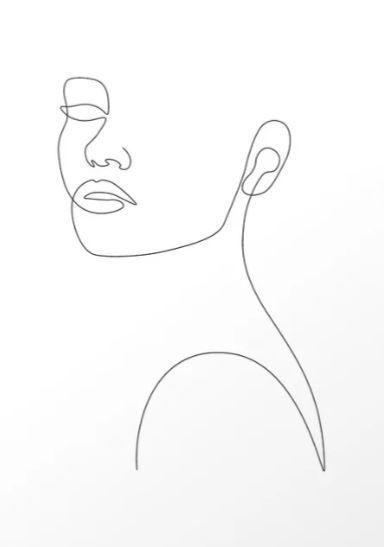 Girly Portrait #minimalinteriors Girly Portrait by Explicit Design #art #print #…