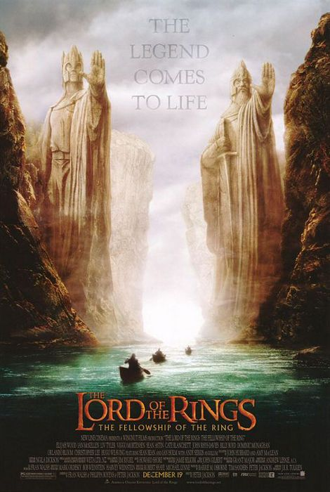 Details About The Lord Of The Rings Fellowship Of The Ring Argonath Movie Poster Print Lord Of The Rings Fellowship Of The Ring Movie Posters