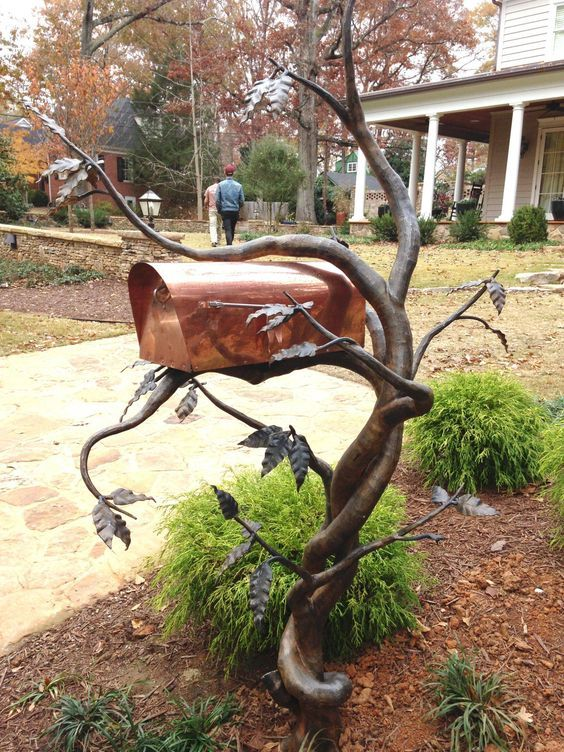 cool mailbox designs. 47 Insanely Unusual And Cool Mailboxes For Your Home | DIY Projects|Homesthetics Pinterest Household, Yards Kerb Appeal Mailbox Designs A