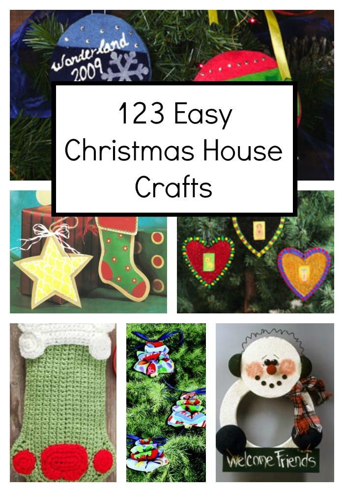 123 Easy Christmas Crafts for Adults Christmas crafts