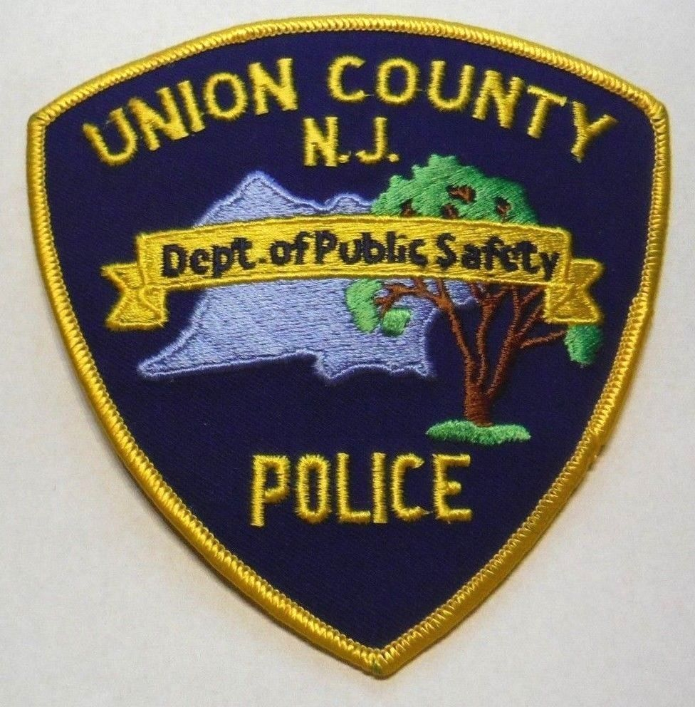 UNION COUNTY NEW JERSEY POLICE PATCH UNUSED Police
