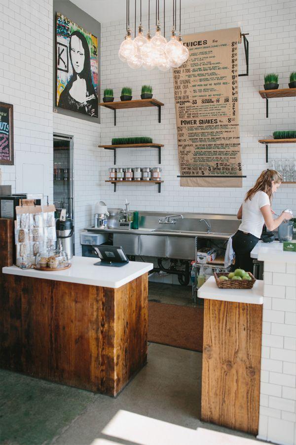 Tresen Beschilderung Cafe Interieur Restaurant Design Kuchen Inspiration