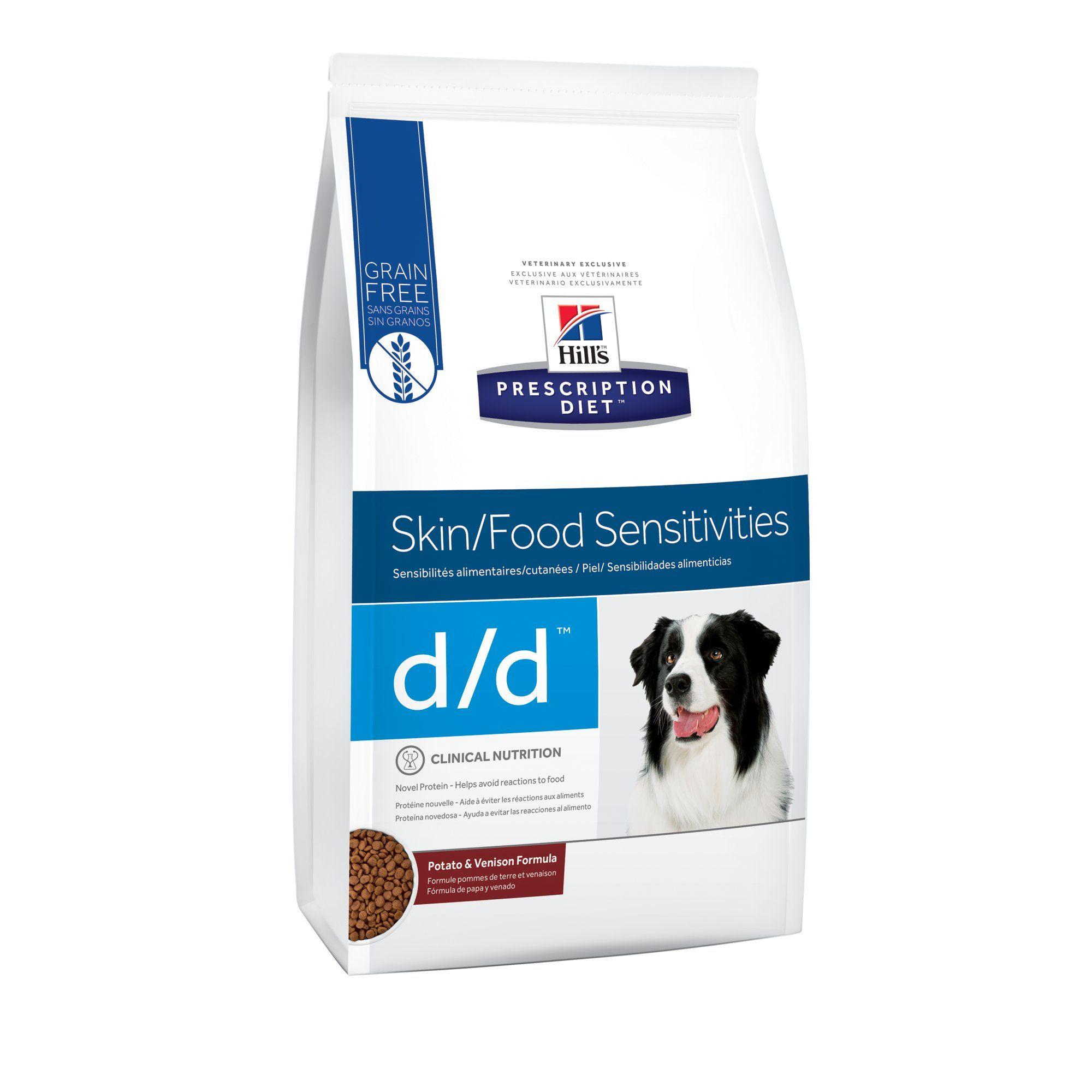 Hills prescription diet dd skinfood sensitivities