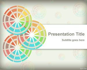 Free color schemes PowerPoint template is a free background for ...