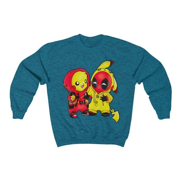 d8324fd6 Pikapool Pokemon Pikachu And Deadpool Sweater#Coupon_for_20%_DISCOUNT:  KLPIN20
