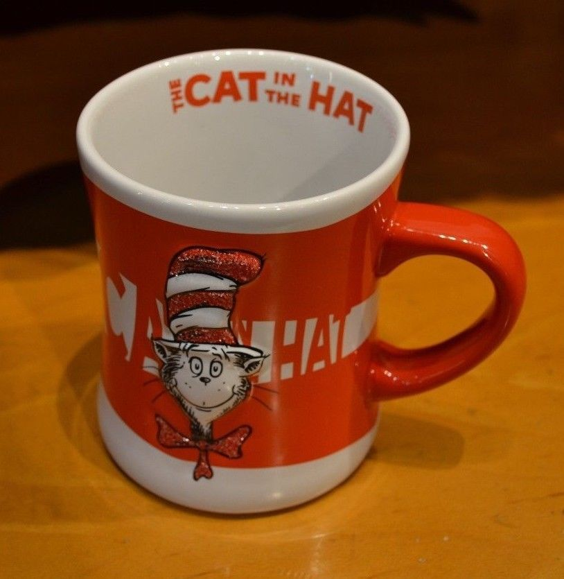 #DrSeuss #CATINHAT #Coffee Mug Cup Universal #IslandsofAdventure 3D Embossed for sale in my ebay store