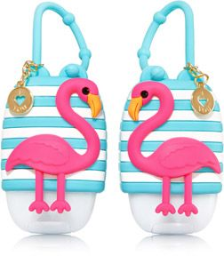Bff Flamingo Pair Of Pocketbac Holders Bath Body Works Bath