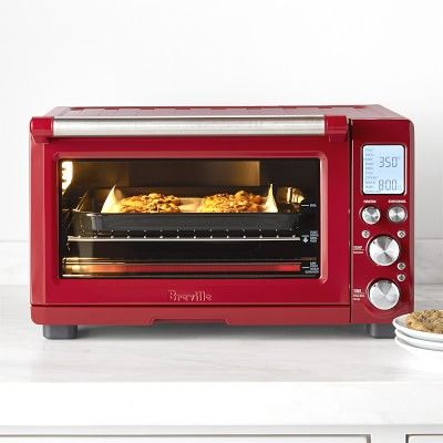 Breville Smart Oven Pro With Light Cranberry Red