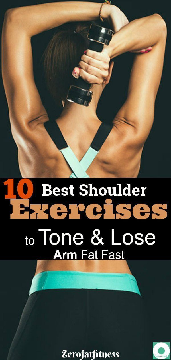 10 Best Shoulder Exercises to Tone and Lose Arm Fat Fast:These 10 shoulder exercises, when done prop...
