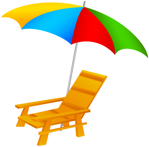 beach umbrella and chair png clip art beach pinterest clip art. Black Bedroom Furniture Sets. Home Design Ideas