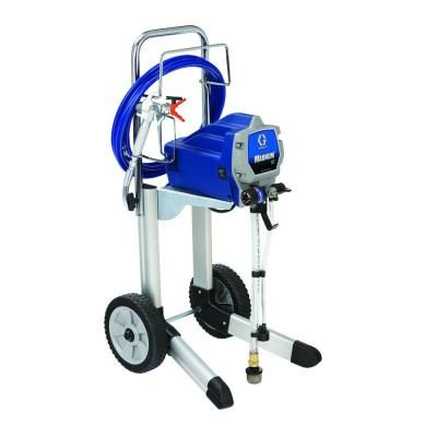 Graco Magnum X7 Airless Paint Sprayer 262805 The Home Depot In 2020 Paint Sprayer Sprayers Pool Deck Plans