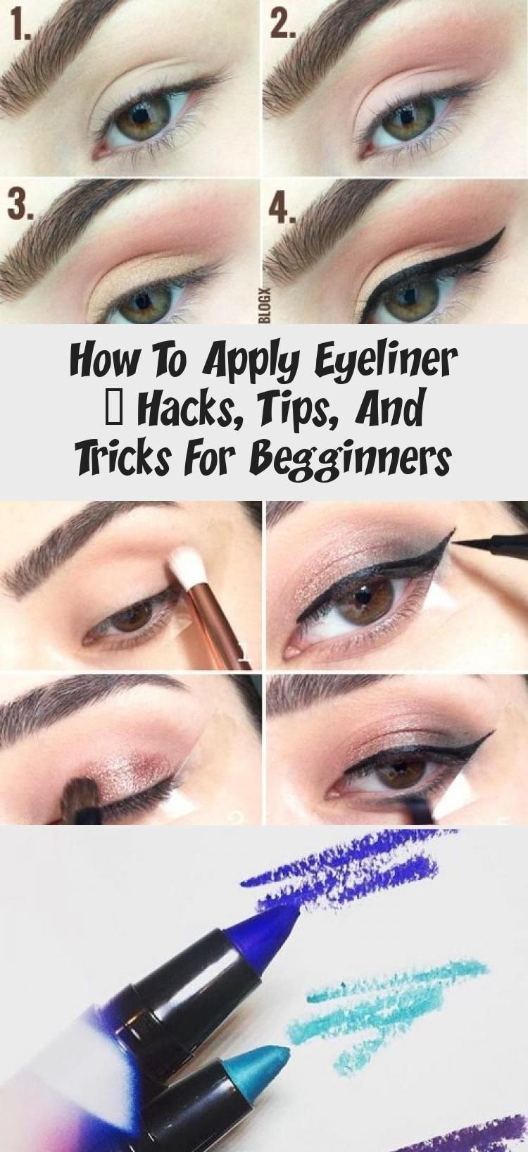 How To Apply Eyeliner – Hacks, Tips, And Tricks For Begginners