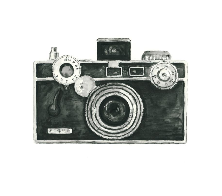 Vintage Cameras Kamera Zeichnung Instagram Ideen Aquarelllmalerei